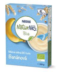 Nestlé 9 x NATURNES BIO Banánová mléčná kaše 200g