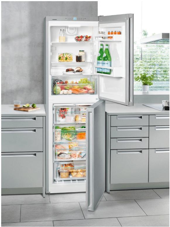 Volně stojící kombinovaná chladnička CNel 4213
