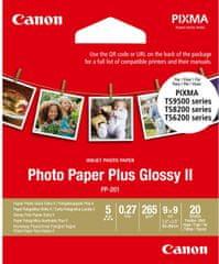 Canon fotopapír PLUS PP-201, 9x9 cm, 20 listů, lesklý (2311B070)