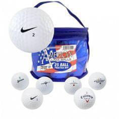 Second Chance American Lake míčky - Nike Grade A - 25 ks