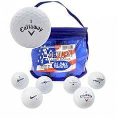 Second Chance American Lakeballs - Callaway Grade A - 25 ks