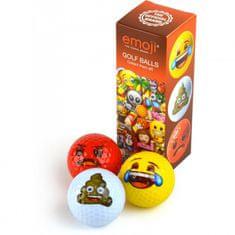 Second Chance Emoji 3 Pack Golf míčky