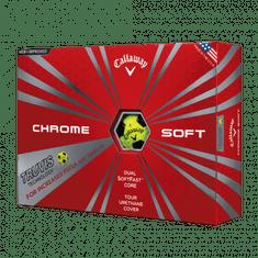 Callaway Chrome Soft Truvis žluté