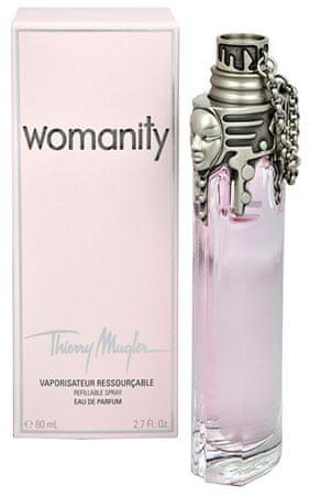 Thierry Mugler Womanity - EDP (z možnostjo polnjenja) 80 ml
