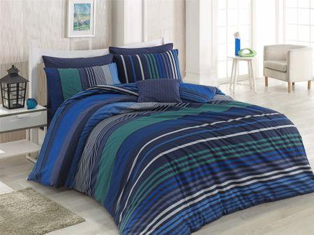 BedTex Marley kék ágynemű huzat, 140×200 / 70×90 cm