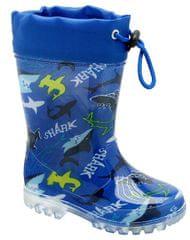 KTR® chlapčenské čižmy so žralokmi