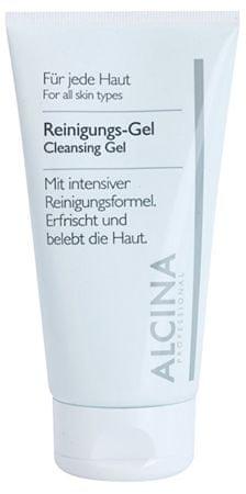 Alcina Čistilni gel z aloe vero in cinkom ( Clean sing Gel) 150 ml