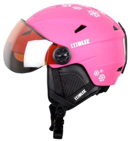 Bliz Jet Visor JR Pink 48-52 cm - rozbaleno