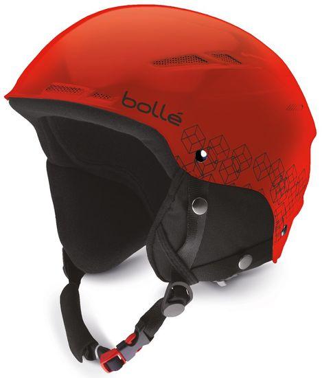 Bollé B-Rent JR Shiny Red & Black 49-52 cm - rozbaleno