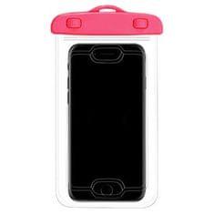 USAMS YD009 Vodotesna torbica s prstnim odtisom Pink 2435351