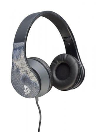 CellularLine slušalice s kabelom Music Sound, crni uzorak