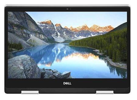 DELL prenosnik Inspiron 7386 i5-8265U/8GB/SSD256GB/13,3FHD/W10P, srebrn (5397184216316)
