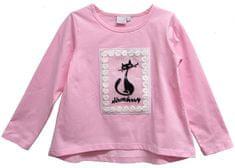 Topo dekliška majica z mačko