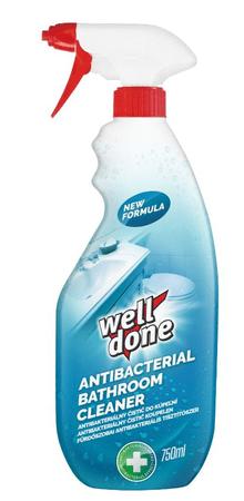 Well Done Antibakteriális spray fürdőszoba tisztításra 750 ml