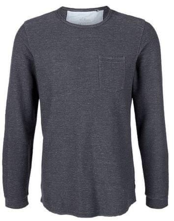 s.Oliver męska koszulka, M, ciemnoniebieska