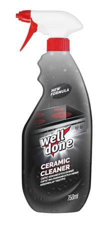 Well Done kerámia és indukciós főzőlap tisztító folyadék 750 ml