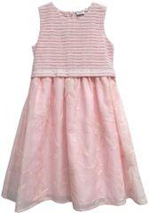 Topo dievčenské šaty s výšivkou
