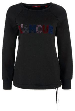 s.Oliver női pulóver 42 fekete