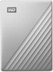 WD My Passport Ultra 1TB, stříbrná (WDBC3C0010BSL-WESN)
