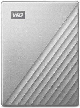 WD My Passport Ultra 4TB, stříbrná (WDBFTM0040BSL-WESN)