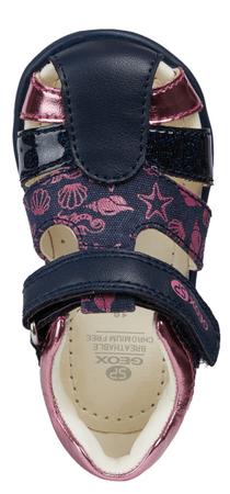 Geox sandały dziewczęce Elthan 21 niebieskie