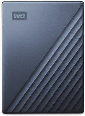 Western Digital dysk zewnętrzny My Passport Ultra 4TB, niebieski/czarny (WDBFTM0040BBL-WESN)
