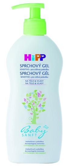 HiPP Babysanft Detský sprchový gél - 400mll