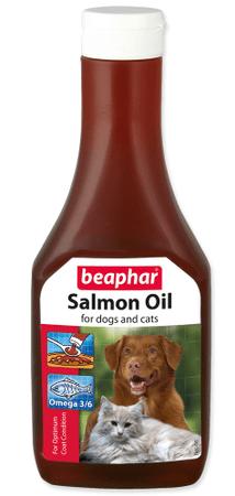 Beaphar prehransko dopolnilo Olej Bea 425ml, losos