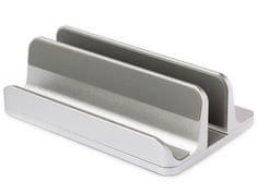 Desire2 Univerzální stolní stojánek pro tablety a notebooky LAPTAB - stříbrný