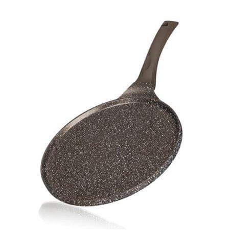 Banquet Palacsintasütő tapadásmentes felülettel GRANITE Dark Brown 26 cm
