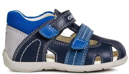 Geox fantovski sandali Kaytan, 20, modri