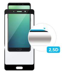 Fixed Ochranné tvrzené sklo pro Xiaomi Mi8 Lite, přes celý displej, černé, 0.33 mm FIXGF-350-BK