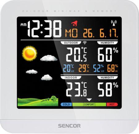 SENCOR stacja pogodowa SWS 5600
