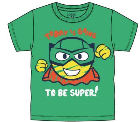 Losan chlapecké tričko 104 zelená