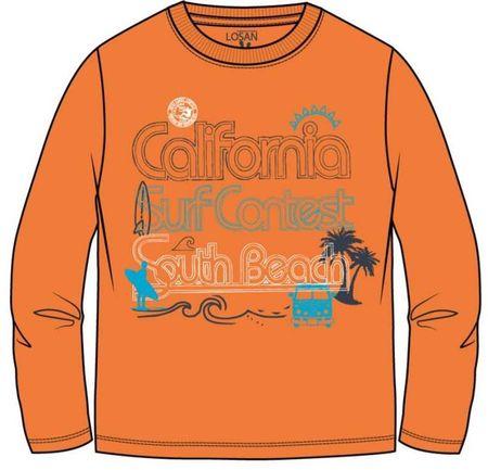 Losan chlapecké tričko 92 oranžová