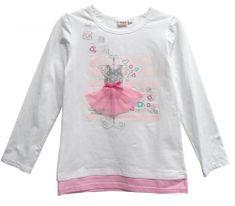Topo dívčí tričko s dlouhým rukávem