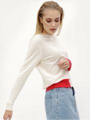 Calvin Klein Jeans krémový dámský svetr s příměsí vlny Sheldon