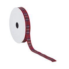 Butlers Stuha károvaná 3 m - červená
