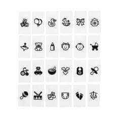 Butlers Symboly Vítání miminka 30 ks