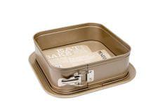 Texell pekač za torto Gold Line TPGL-T243, 24x24x7,9 cm