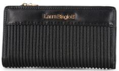 Laura Biagiotti fekete női pénztárca