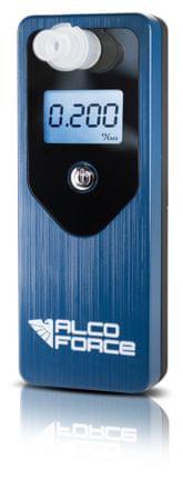 AlcoForce Osobní alkoholtestr MASTER, modrý, ekonomický model