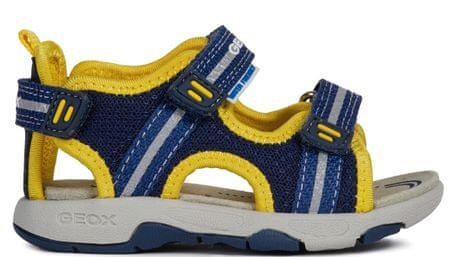 Geox sandały chłopięce Multy 25 niebieski