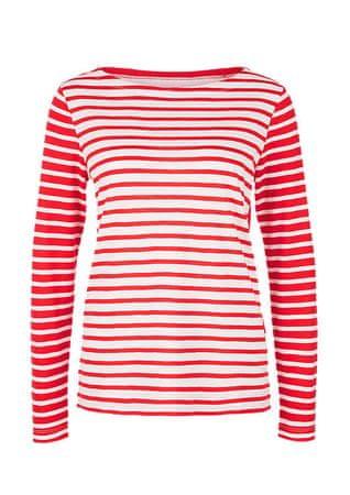 s.Oliver dámské tričko 36 červená