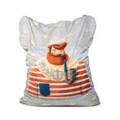 TULI Sedací vak Sofa polyester vzor námorník