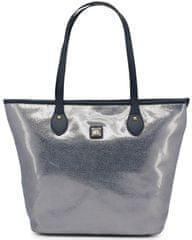 Laura Biagiotti stříbrná kabelka