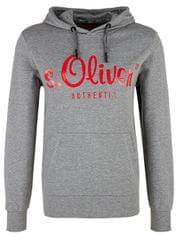 s.Oliver Férfi kapucnis pulóver 13.901.41.3496.9222 Közepes Grey Melange
