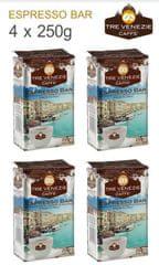 Tre Venezie Espresso bar őrölt kávé 4 x 250 g