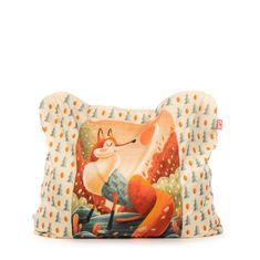 TULI Sedací vak Funny polyester vzor líška