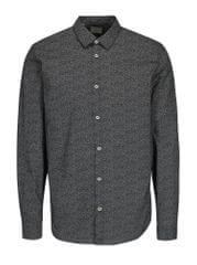 Selected Homme bílo-černá vzorovaná slim fit košile One Mini